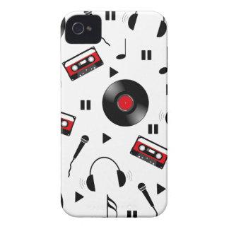 Motif de musique coques iPhone 4