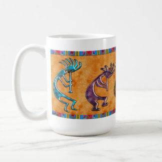 Motif de Natif américain de Kokopelli 3D Anasazi Mug