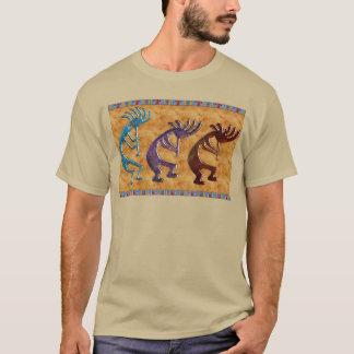 Motif de Natif américain de Kokopelli 3D Anasazi T-shirt