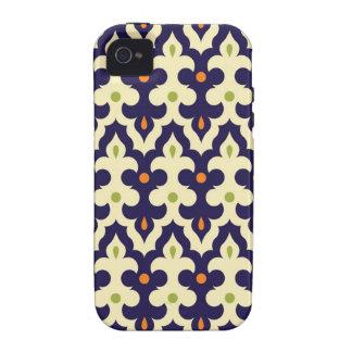 Motif de papier peint d arabesque de Paisley de da Coque iPhone 4