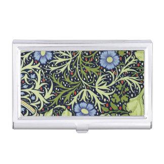 Motif de papier peint d'algue de William Morris Boîtier Pour Cartes De Visite