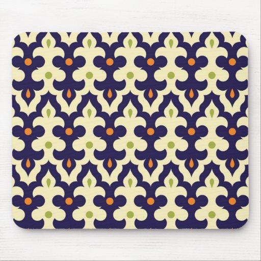 Motif de papier peint d 39 arabesque de paisley de da tapis for Papier peint arabesque