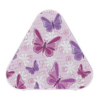 motif de papillon 2 haut-parleur bluetooth