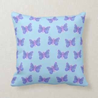 Motif de papillon - coussin