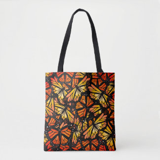 MOTIF de PAPILLON de MONARQUE par Slipperywindow Tote Bag