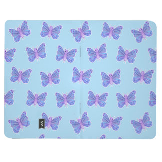 Motif de papillon - journal de poche