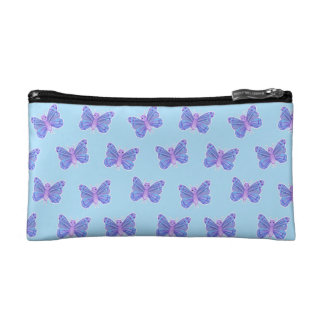 Motif de papillon - sac cosmétique