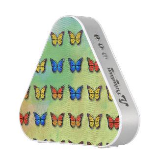 Motif de papillons assorti haut-parleur bluetooth