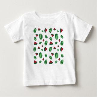 Motif de pastèque t-shirt pour bébé