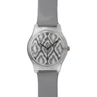 Motif de peau de serpent de python montres bracelet