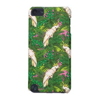 Motif de perroquet avec des palmettes coque iPod touch 5G