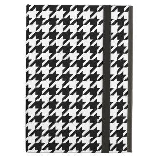 Motif de pied-de-poule noir et blanc