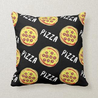 Motif de pizza oreiller