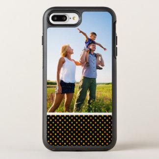 Motif de point lumineux de polka de photo coque otterbox symmetry pour iPhone 7 plus