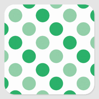 Motif de pois autocollants stickers motif de pois - Carre blanc chaux ...