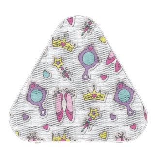 motif de princesse de papillon haut-parleur bluetooth