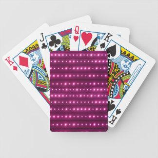 Motif de rayures de galaxie jeu de cartes
