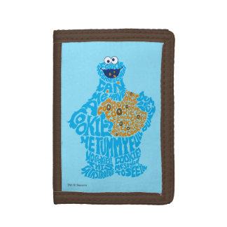 Motif de remplissage de monstre de biscuit