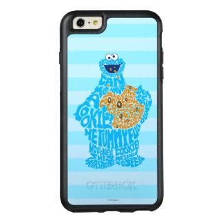 Motif de remplissage de monstre de biscuit coque OtterBox iPhone 6 et 6s plus