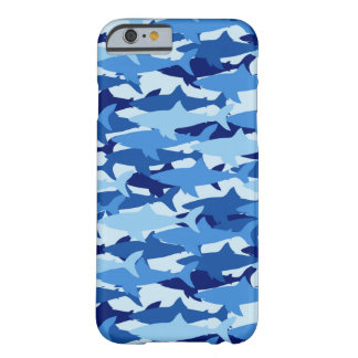 Motif de requin bleu coque iPhone 6 barely there