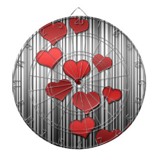 Motif de Saint-Valentin Jeux De Fléchettes