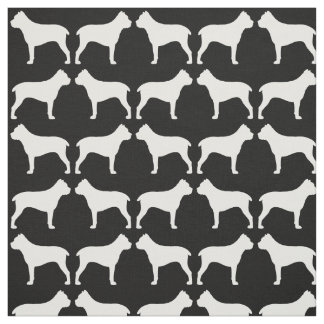 Motif de silhouettes de Corso de canne Tissu