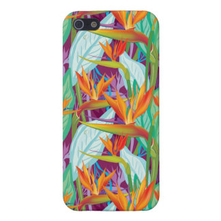 Motif de Strelitzia Coque iPhone 5