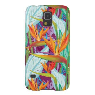 Motif de Strelitzia Protections Galaxy S5