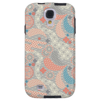 Motif de style japonais. Illustration Coque Galaxy S4