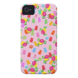 Motif de sucrerie coques iPhone 4 Case-Mate