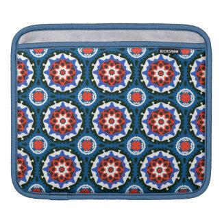 Motif de Suzani avec l'ornement audacieux Poches Pour iPad