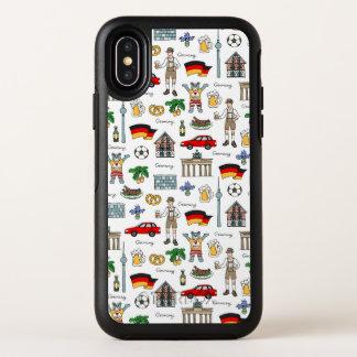Motif de symboles de l'Allemagne |
