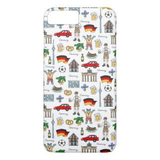Motif de symboles de l'Allemagne | Coque iPhone 7 Plus