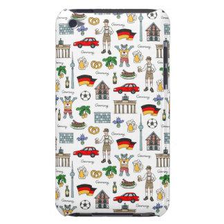 Motif de symboles de l'Allemagne | Coque iPod Case-Mate