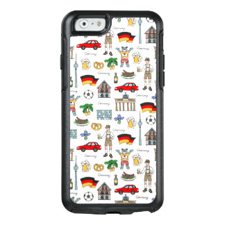 Motif de symboles de l'Allemagne | Coque OtterBox iPhone 6/6s