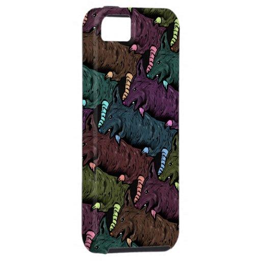 Motif de Tesselation de rat - cas de téléphone de  Coques Case-Mate iPhone 5