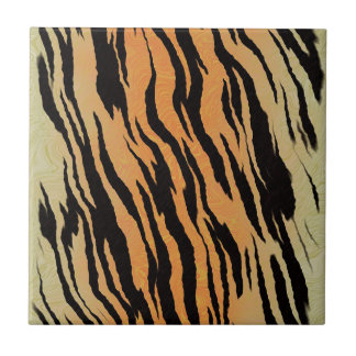 Motif de tigre carreau