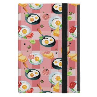 Motif de tomate et d'oeufs au plat coque iPad mini