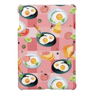 Motif de tomate et d'oeufs au plat coque pour iPad mini