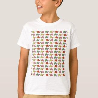 Motif de tortue t-shirt