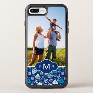 Motif | de voiliers de bande dessinée votre photo coque otterbox symmetry pour iPhone 7 plus
