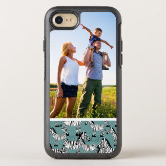 Motif de zèbre de photo coque otterbox symmetry pour iPhone 7