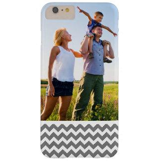 Motif de zigzag géométrique de photo faite sur coque barely there iPhone 6 plus