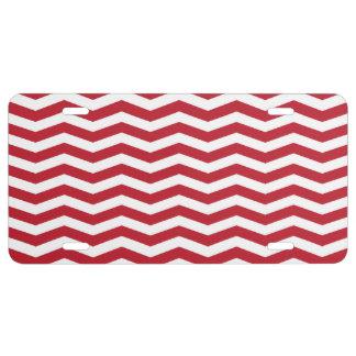 motif de zigzag rouge de vacances de l'effet 3D
