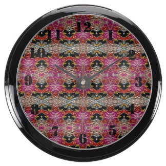 Motif décoratif à la mode moderne aqua clocks