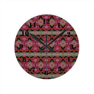 Motif décoratif à la mode moderne horloge ronde