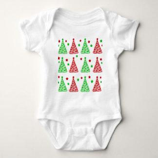 Motif décoratif d'arbre de Noël - blanc Body