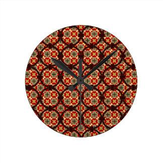 Motif décoratif de lien abstrait de cercle pendules