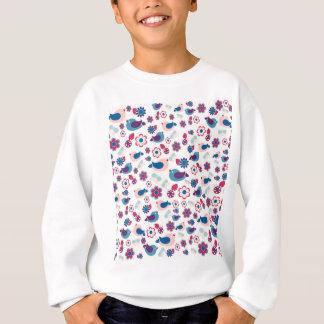 Motif décoratif de ressort sweatshirt