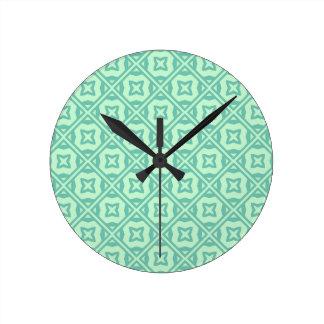 Motif décoratif élégant horloges murales